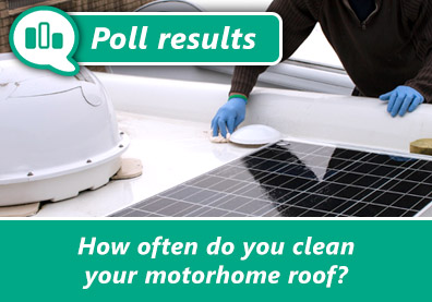 On top of the motorhome cleaning! thumbnail