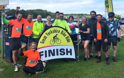 Caravan Guard pledge to raise thousands in Great Yorkshire Bike Ride thumbnail