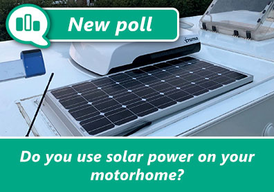 Poll: Do you use solar power on your motorhome? thumbnail