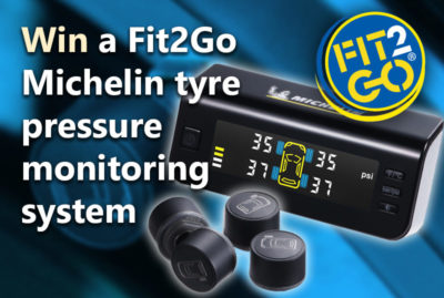 Fit2Go Michelin tyre pressure monitor up for grabs thumbnail