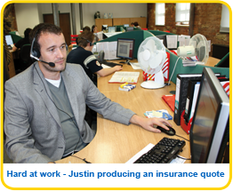 Justin Whitham employee at Caravan Guard
