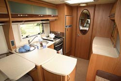 Autocruise Gleneagle kitchen