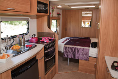 Lunar Clubman new bed layout
