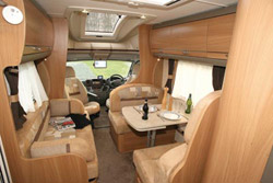 Swift Kontiki 649 front lounge