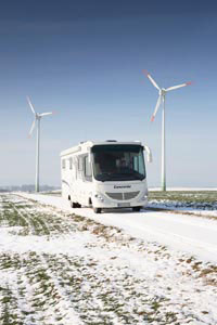 On the road in your motorhome this winter