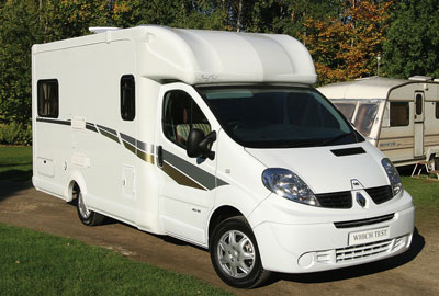 Bentley Ochre Motorhome
