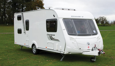 Swift Charisma 565 touring caravan