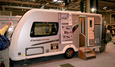 Swift Conqueror 480 touring caravan