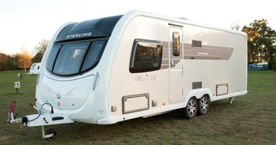 Sterling Elite Explorer Touring Caravan