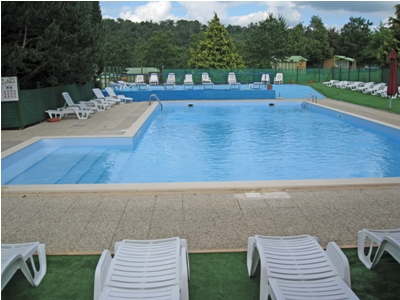 A well sized swimming pool is onsite