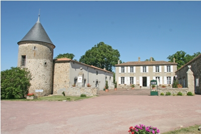 The Chateaux at the park's entrance