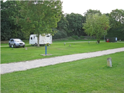 Grass pitches with electric hook up