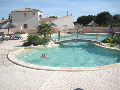 Camping Les Fontaines Campsite