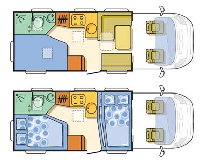 Adria matrix floorplan