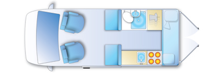 motorhome floor plan