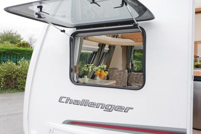 Swift Challenger window