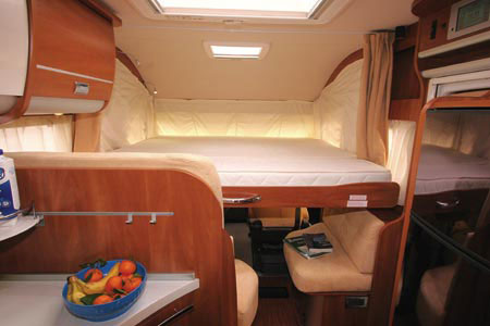 drop down double bed