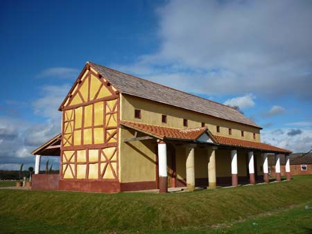 Roman town house at Wroxeter
