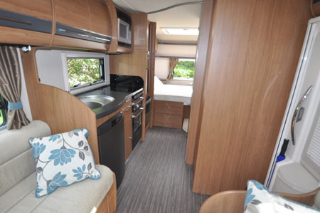 Auto trail kitchen