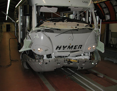 Loss of control can lead to major motorhome damage