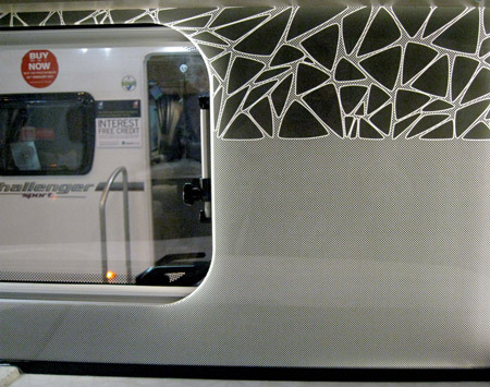 Swift Colour Concept Caravan Illuminated Splash Back
