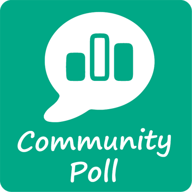 Community Poll icon resizes