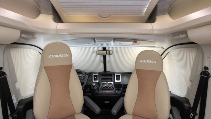 2013 Chausson Welcome 69 driver seats