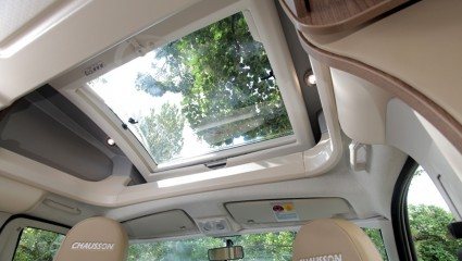 2013 Chausson Welcome 69 sun roof