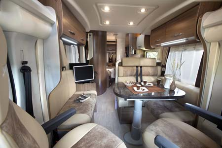 2013 Chausson Welcome 69 motorhome interior