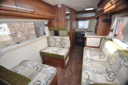 Inside the 2014 Auto-Sleeper Broadway EK motorhome