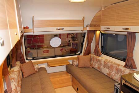 Bailey Pursuit Caravans Lounge