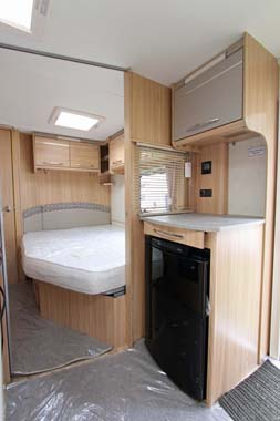 Coachman Vision 560-4 Caravan Fridge & Microwave housing