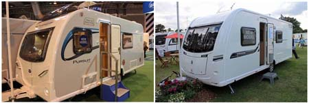 What's the stand-out caravan range for 2014?