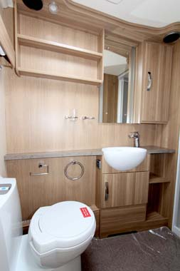 Swift Sterling Amber Elite Shower room