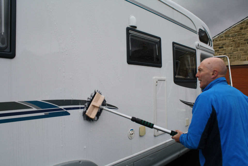 A guide to cleaning your motorhome - Caravan Guard