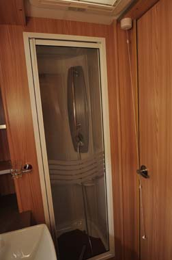 Coachman Pastiche Shower Room