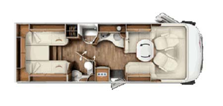 Carthago Chic floor plan