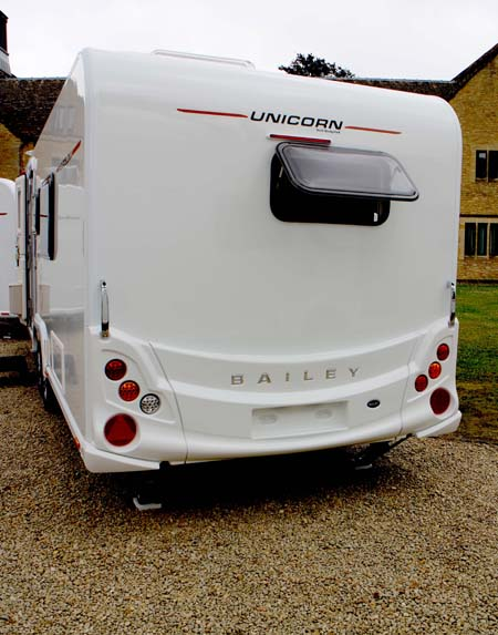 2014 Bailey Unicorn rear