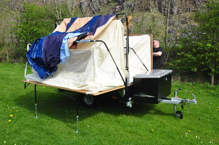 Trigano Galleon Trailer Tent Review Up In A Trice On