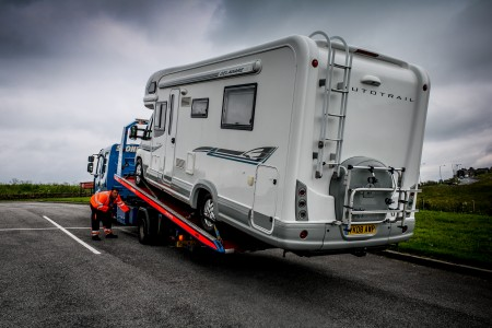 step-by-step guide to motorhome breakdown and recovery