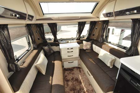 Sterling Continental 565 Interior