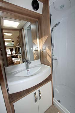Swift Elegance 480 Shower Room