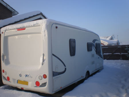 Top 15 caravan winter checks