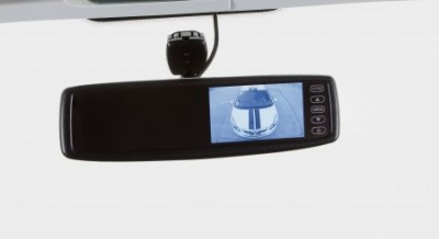 Reversing camera on the Swift Kontiki