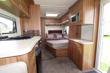 Elddis Affinty 540 Interior Looking Back