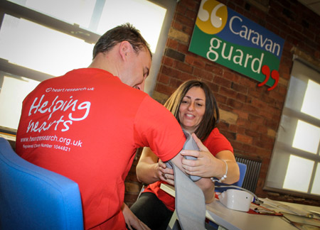 Caravan Guard raise over £35,000 for Heart Research UK!