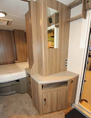 Swift Sprite Major 4SB Interior storage