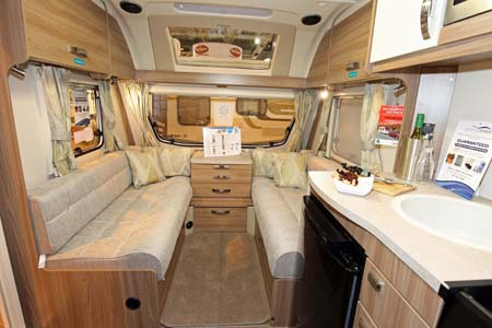 Swift Sprite Major 4SB Interior