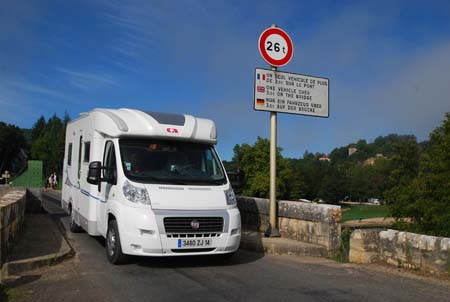 Motorhoming in France