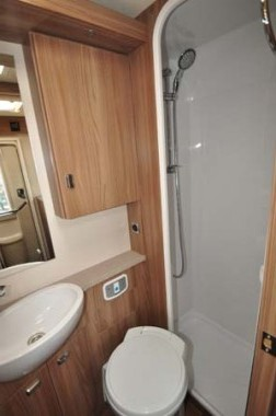Swift Esprit 412 Washroom